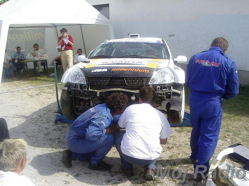 Rally Velenje 2003 08