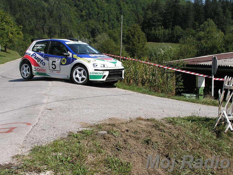Rally Velenje 2003 09