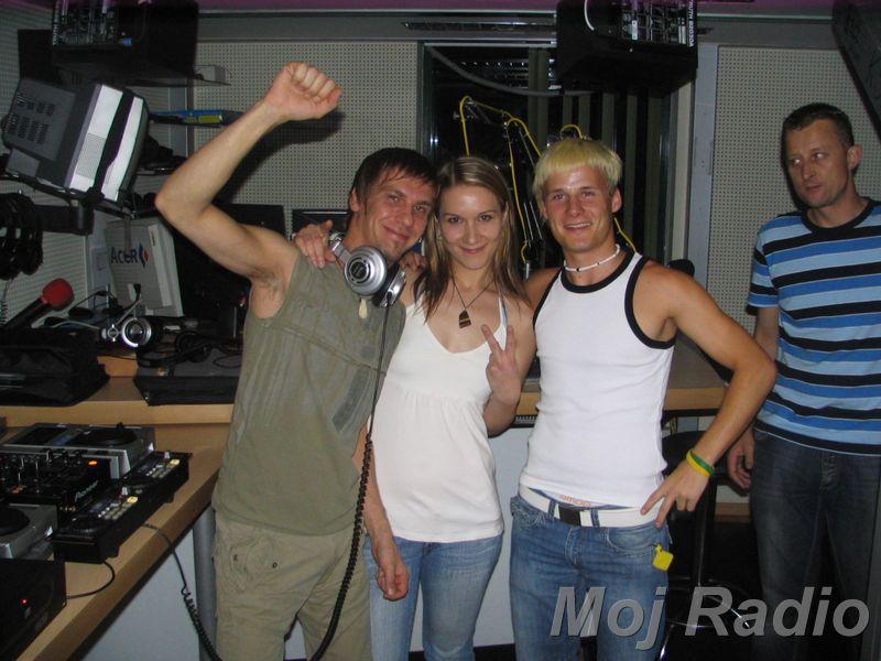 HEY MISTER DEEJAY PARTY @ MOJ RADIO Julij 2007 08