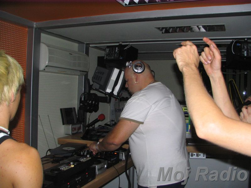 HEY MISTER DEEJAY PARTY @ MOJ RADIO Julij 2007 13