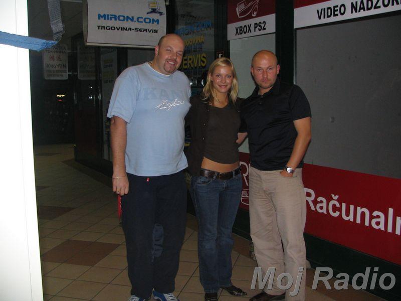 3 KRALJI in Maja Tratnik (September 2006)3