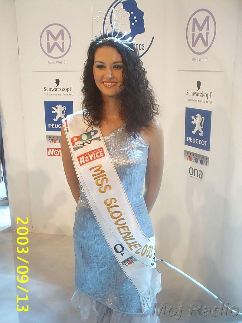 MISS 2003 Misica 2003-Tina Zajc