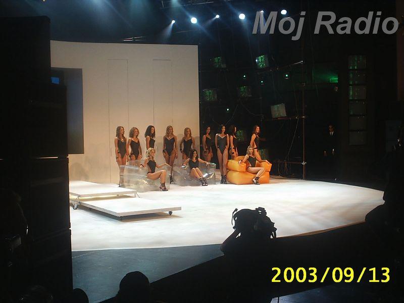 MISS 2003 Misice izhod 2