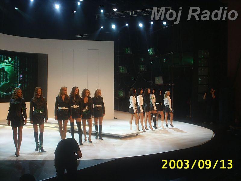 MISS 2003 Misice izhod