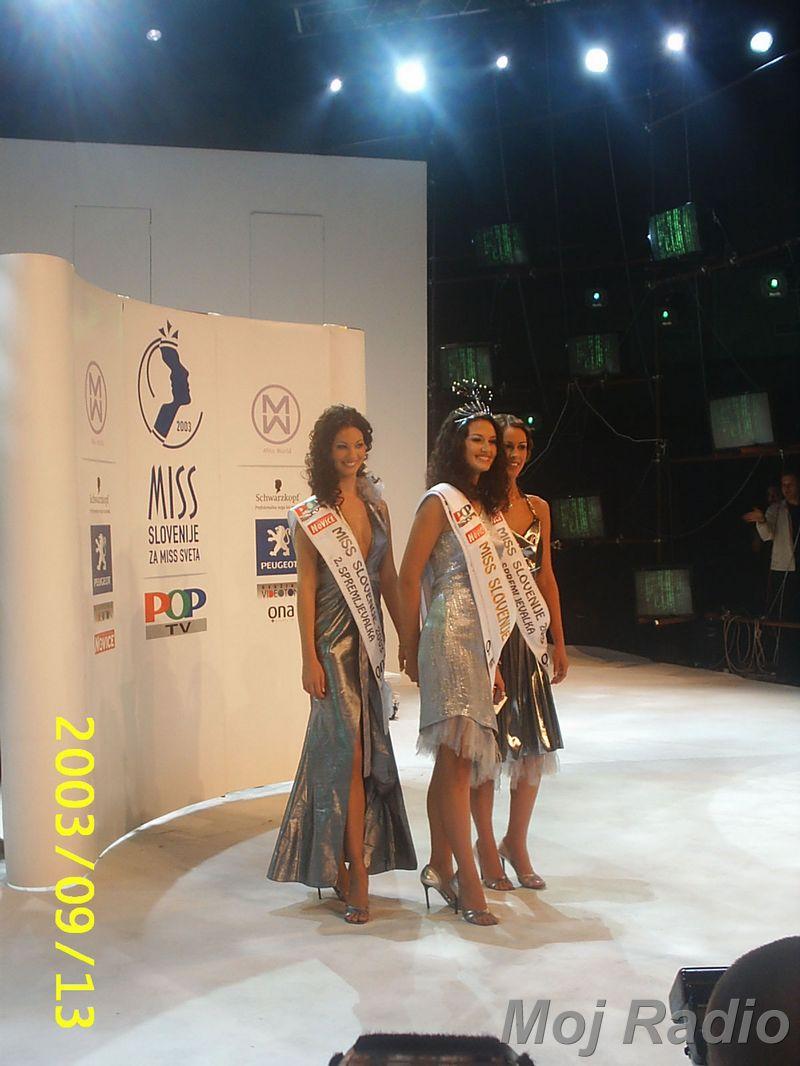 MISS 2003 Prve tri Miss 2003 1