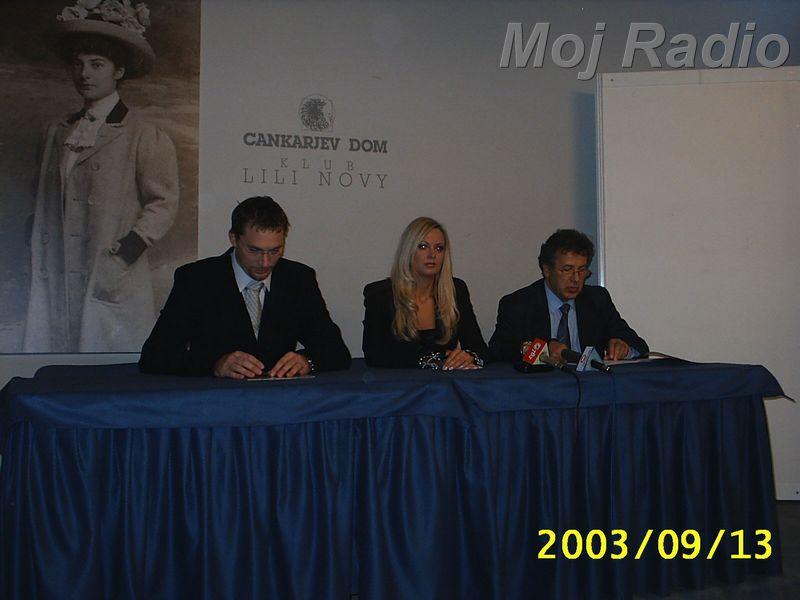MISS 2003 Tiskovna Konferenca